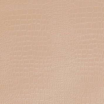 Simili cuir croco beige