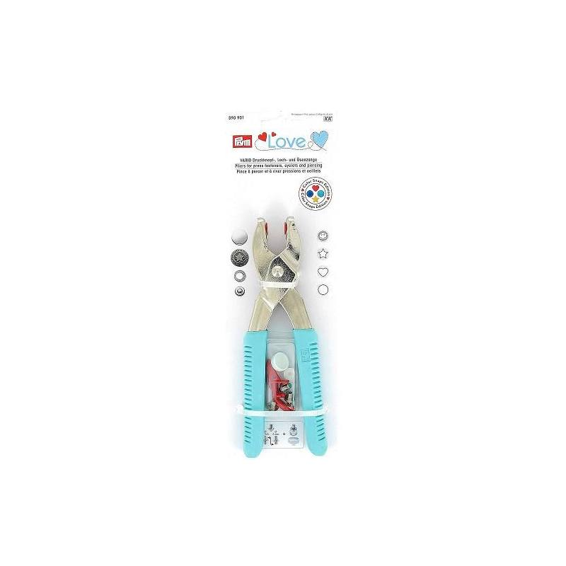 Pince Vario Prym love + outils color snaps