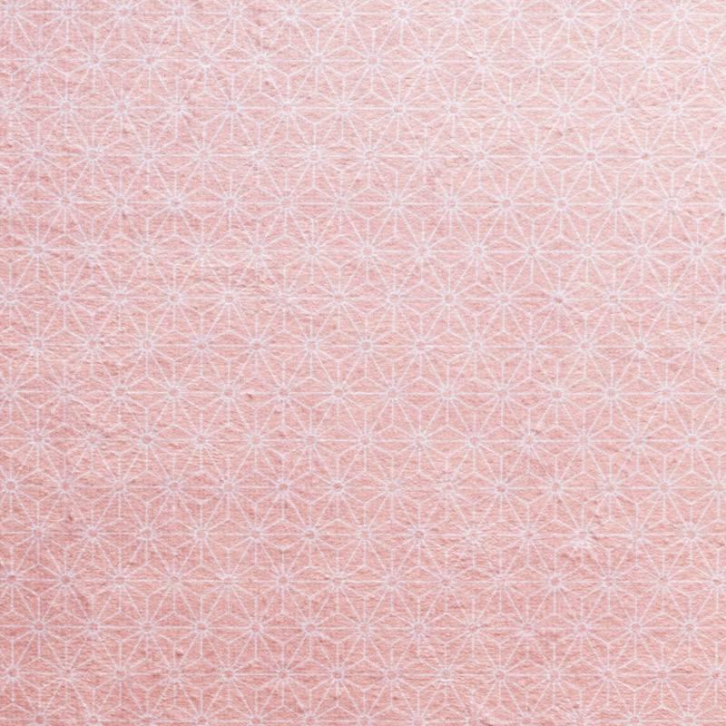 Coupon éponge pour lingettes démaquillantes motif mots fleuris