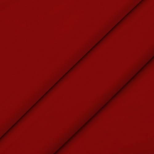 Tissu velours rouge coquelicot