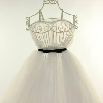 Tulle couleur soie pour robe de mariée grande largeur