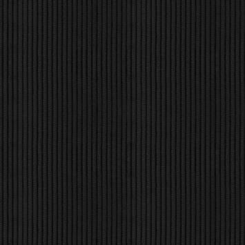 coupon - Coupon 50cm - Velours côtelé moyennes côtes noirs