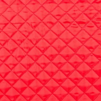 Doublure matelassé rouge