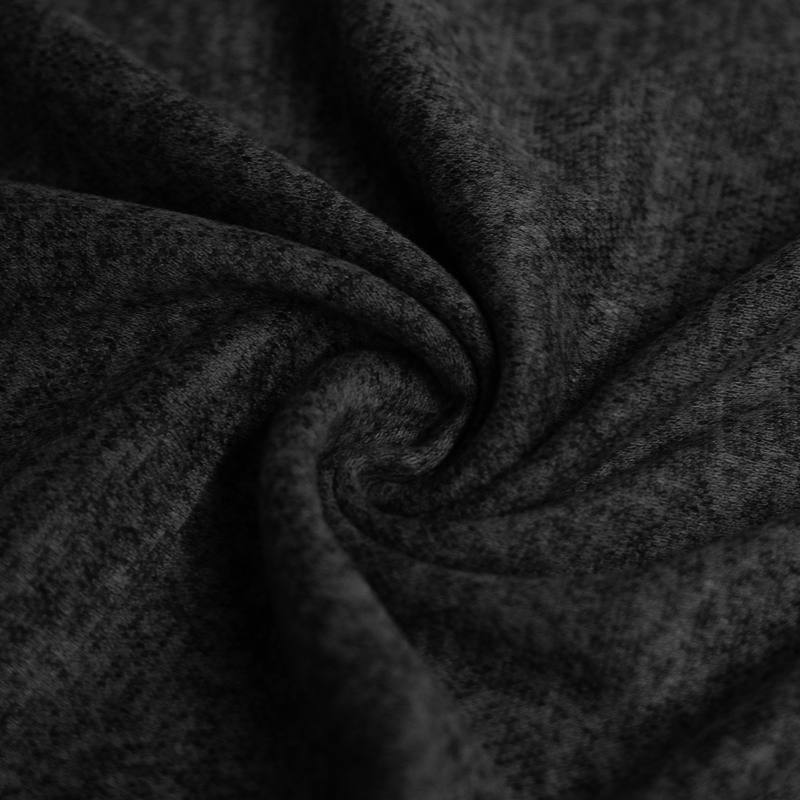 Jersey lainage gris anthracite chiné