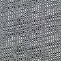 Jersey jacquard gris motif rayures hachurées