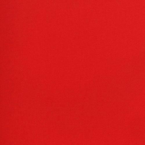 Tissu coton rouge grande largeur