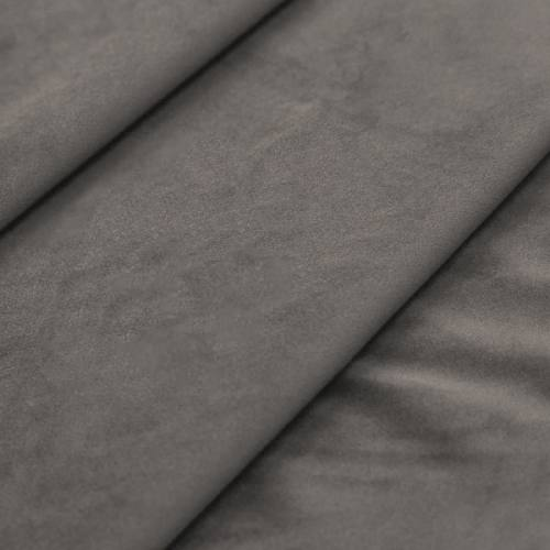 Tissu velours gris souris