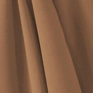 Tissu occultant non feu cappuccino grande largeur