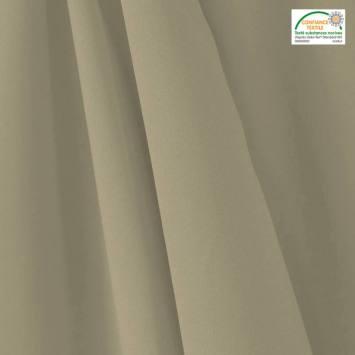 coupon - Coupon 100cm - Tissu occultant grande largeur gris perle thermique et phonique