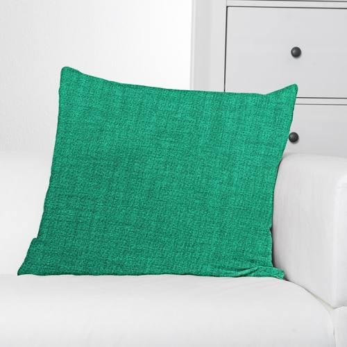 Toile polycoton verte chinée grande largeur