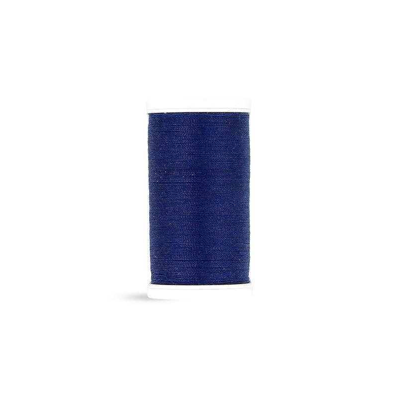 Fil polyester Laser bleu nuit 2268