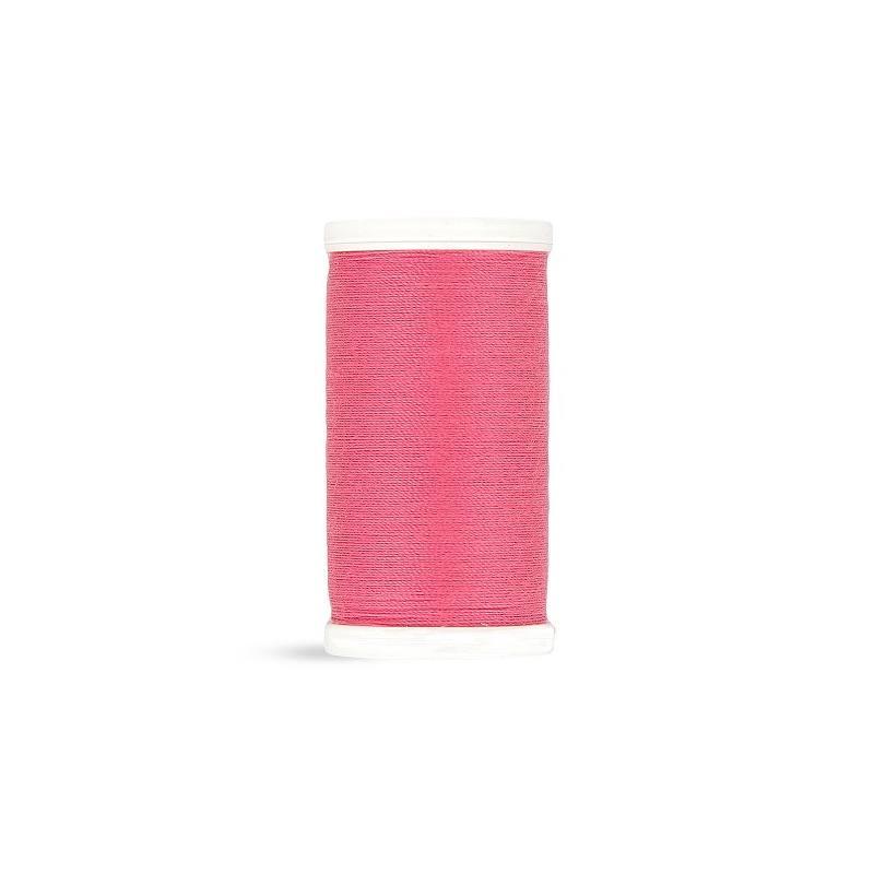 Fil polyester Laser rose 2412