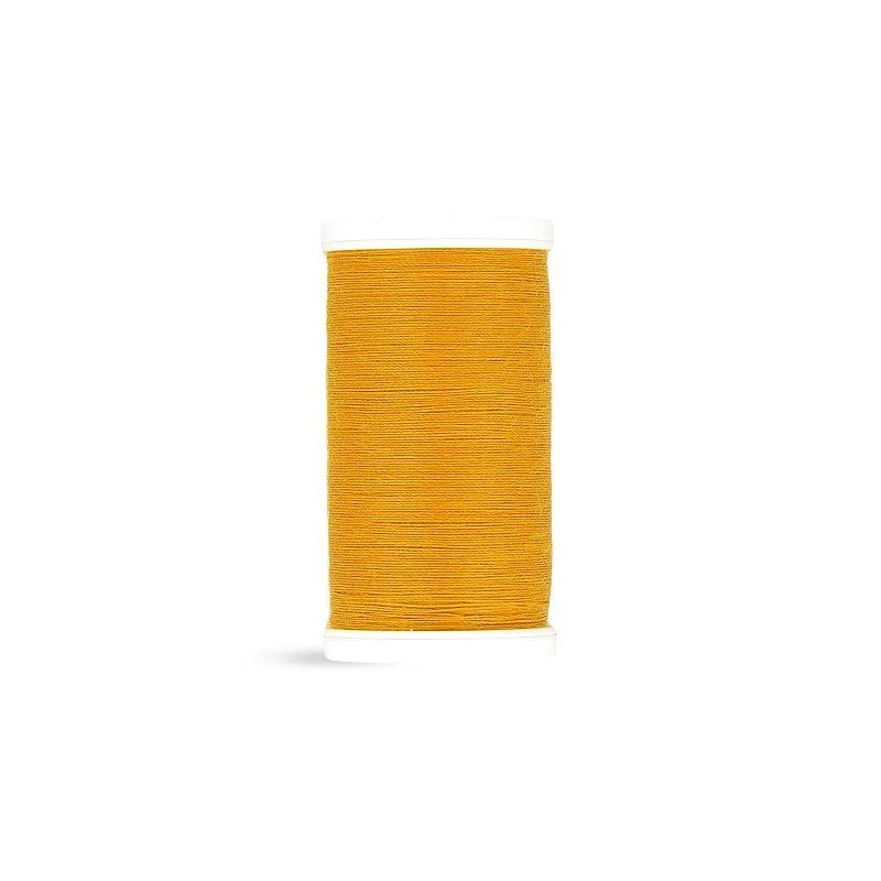 Fil polyester Laser jaune safran 2606