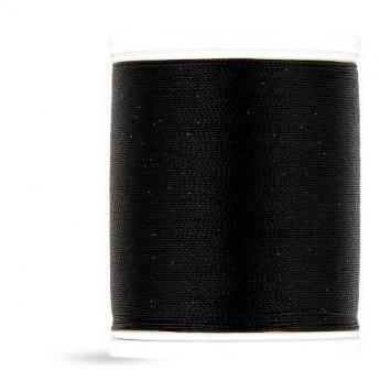 Fil à coudre ultra-résistant onyx noir 1000