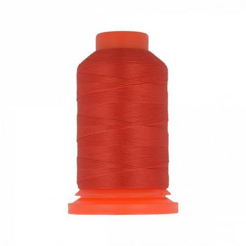 Cône de fil mousse rouge