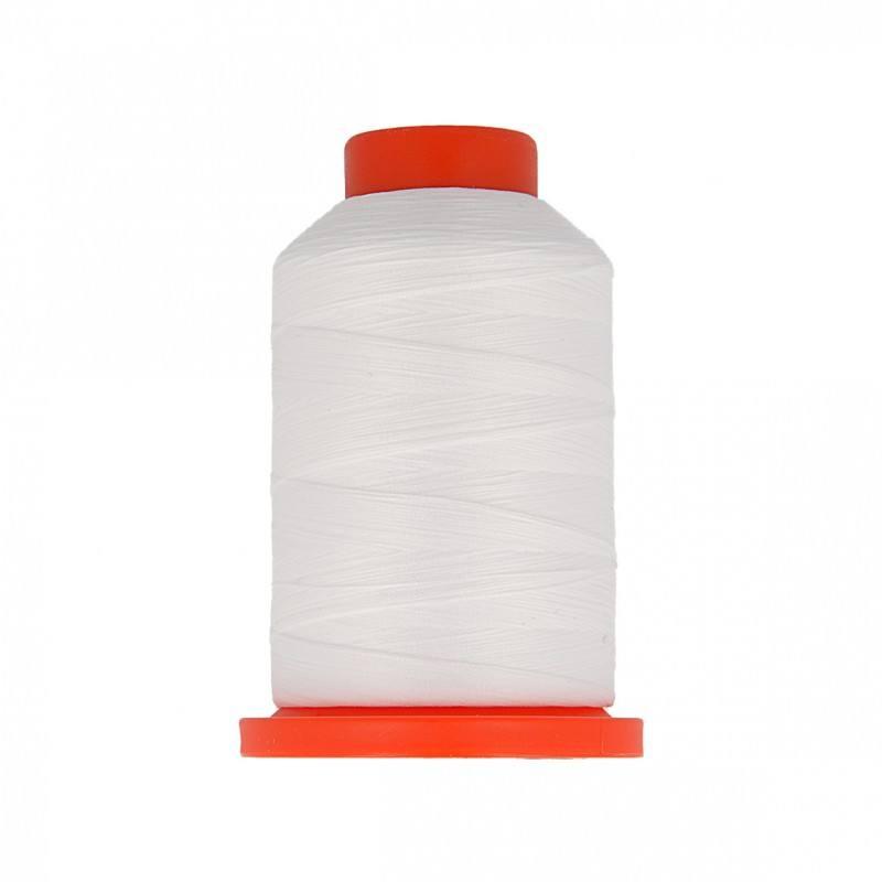 Cône de fil mousse blanc