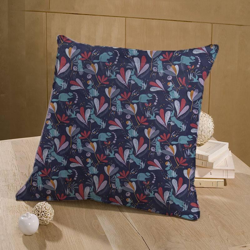 Coton violet motif lorena
