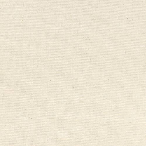 Toile coton demi-natté couleur naturelle grande largeur