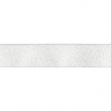 Auto agrippant à coudre velours 50 mm blanc