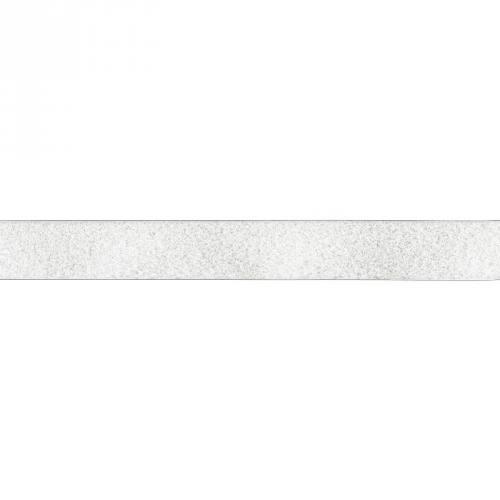Rouleau 25m Auto-agrippant à coudre velours 30 mm blanc
