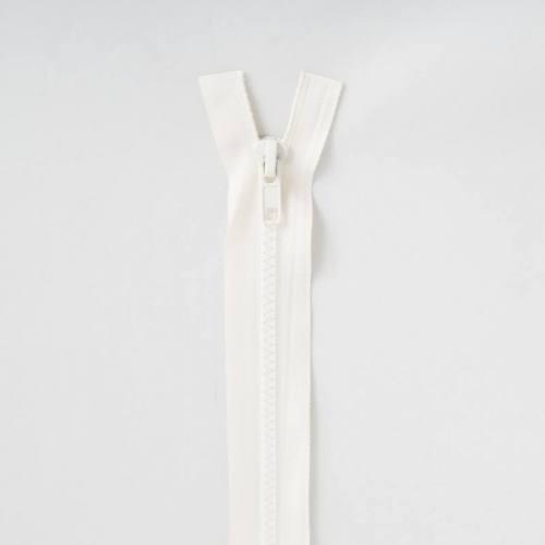 Fermeture injectée crème 65 cm séparable col 801