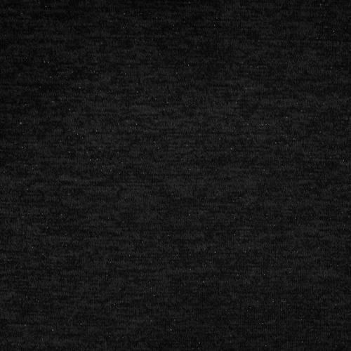 Jersey lainage brillant noir