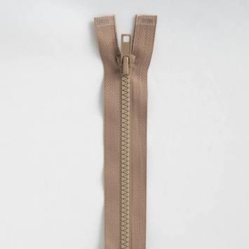 Fermeture injectée beige 60 cm séparable col 894