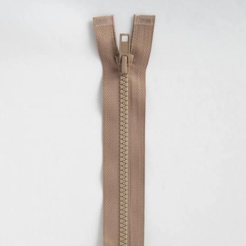 Fermeture injectée beige 80 cm séparable col 894