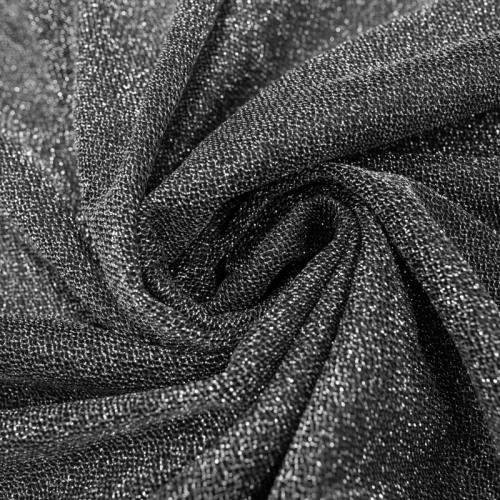 Maille lurex argenté