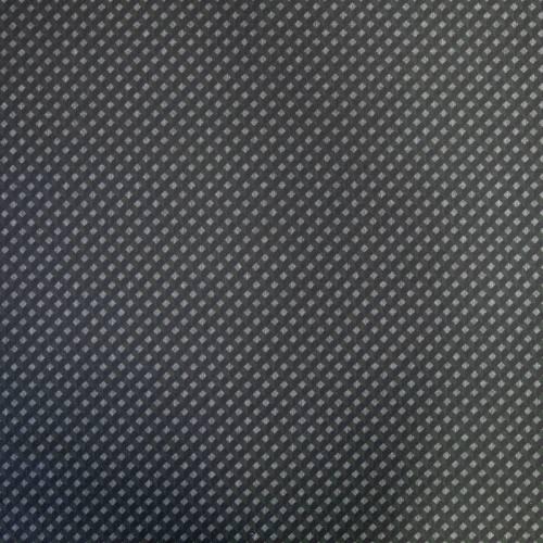 Punto milano gris motif à carreaux noir et vert
