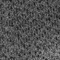 Tissu lainage noir ornements fils blancs et gris