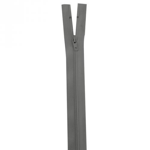 Fermeture grise 30 cm non séparable col 243