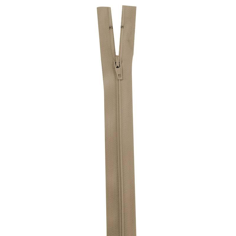 Fermeture beige 25 cm non séparable col 894
