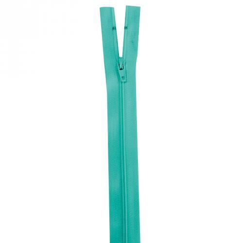 Fermeture vert lagon 25 cm non séparable col 825
