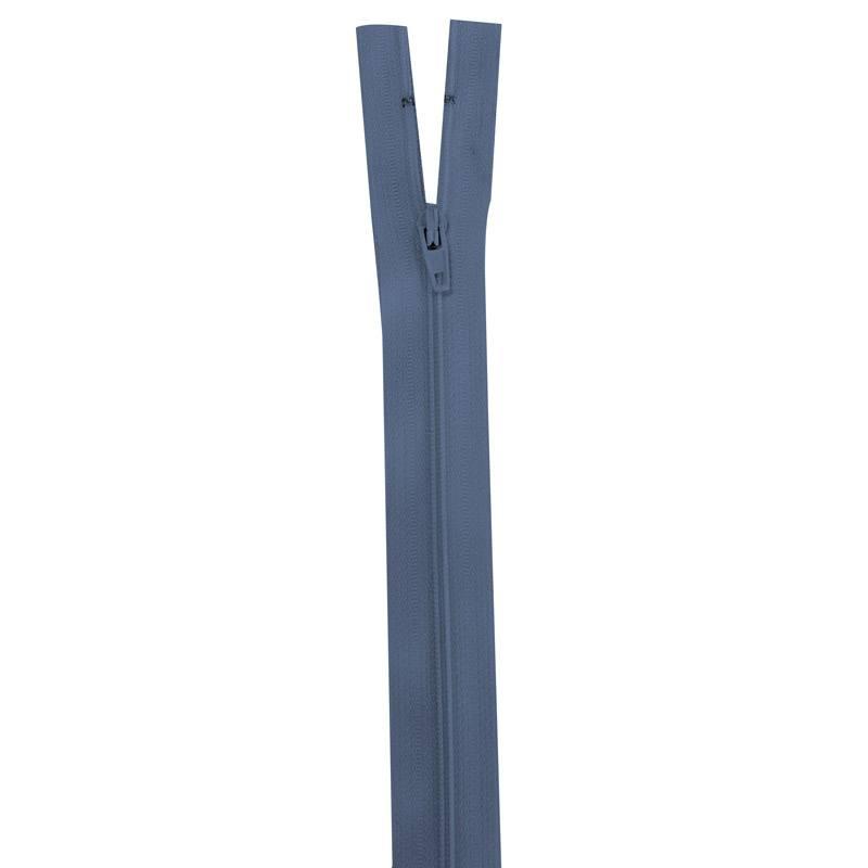 Fermeture bleu horizon 18 cm non séparable col 145