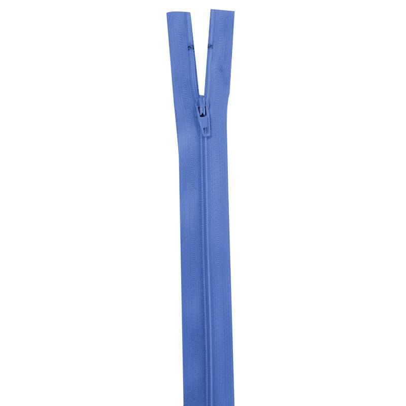 Fermeture bleu de France 25 cm non séparable col 144