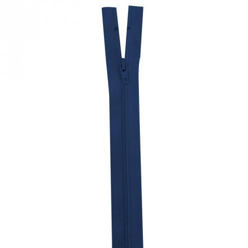 Fermeture bleu foncé 45 cm non séparable col 039