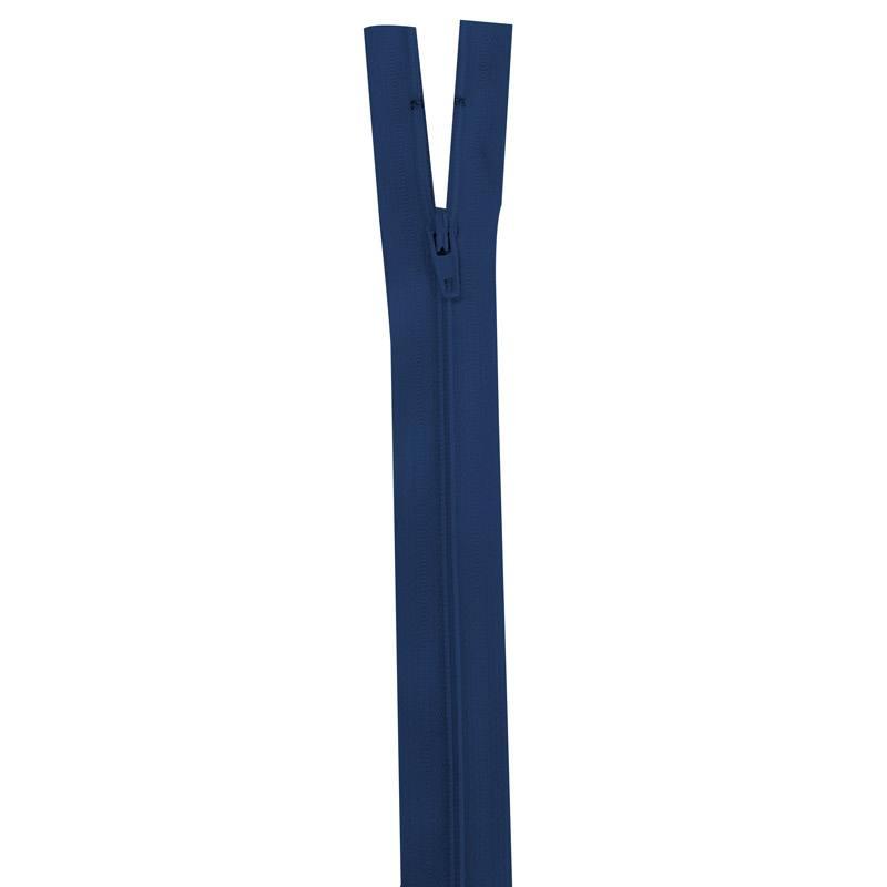 Fermeture bleu marine 20 cm non séparable col 039
