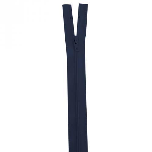 Fermeture bleu marine 25 cm non séparable col 233