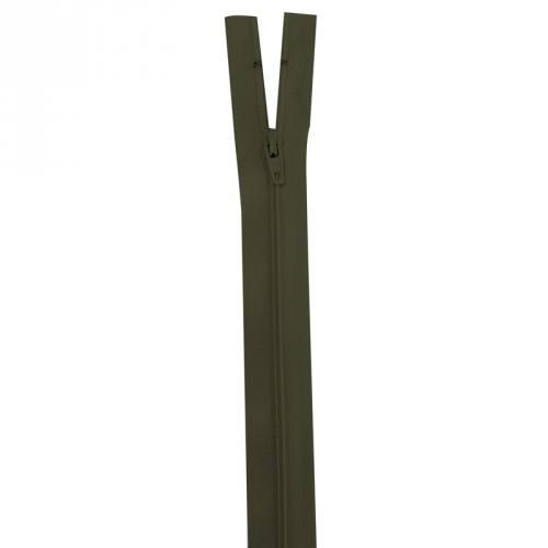 Fermeture vert kaki 40 cm non séparable col 305