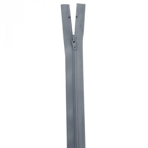 Fermeture gris foncée 15 cm non séparable col 578
