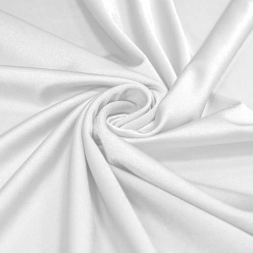 Lycra blanc scintillant