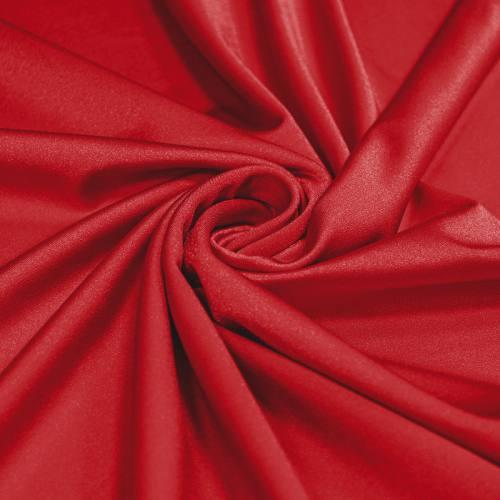 Lycra maillot de bain rouge scintillant