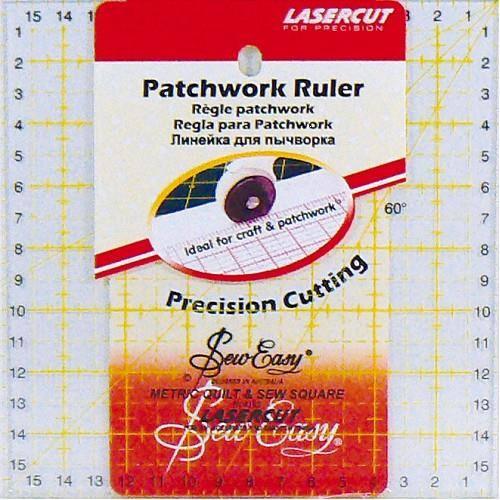Règle patchwork 16cmX16cm