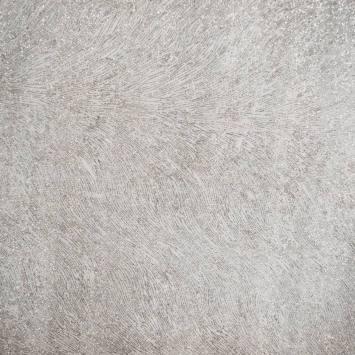 Organza blanc zébrures argentées