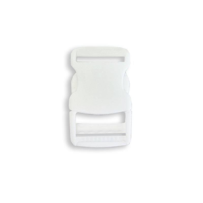 Boucle pour sangle blanche taille 30 mm