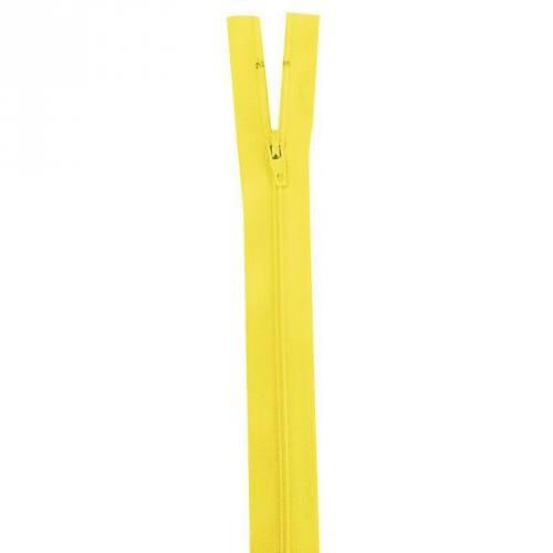 Fermeture jaune 35 cm non séparable col 504