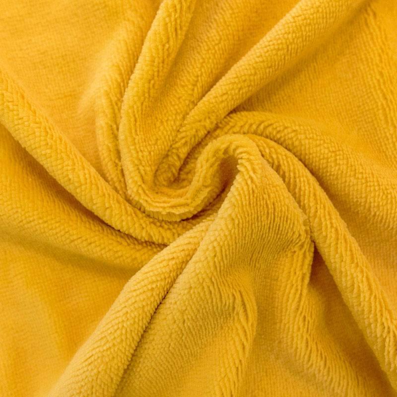 Micro éponge bambou jaune ambre double face