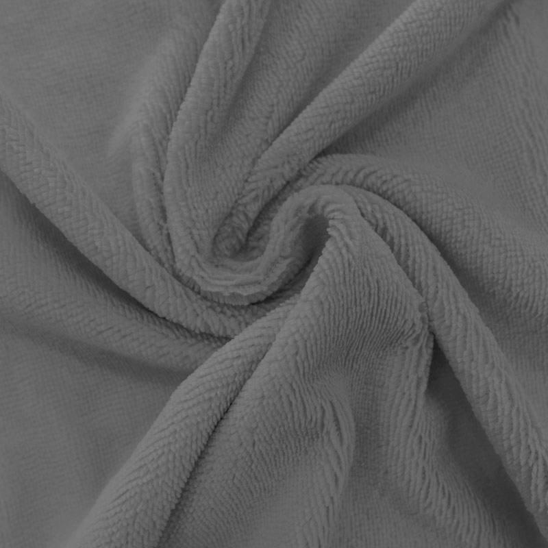 Micro éponge bambou gris ardoise double face