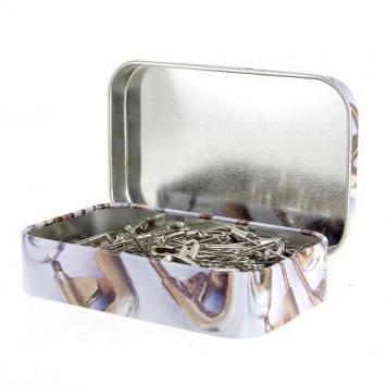 Boîte d'épingles de sûreté assorties 100p